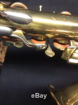 1941 Holton 240 Tenor Pro Saxophone Plus Case Conn Sax Martin