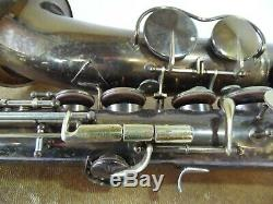 1946 King Zephyr Bb Tenor sax saxophone with case and extra's model 1006 BB