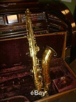 1956 Holton Tenor Saxophone with Hard Case