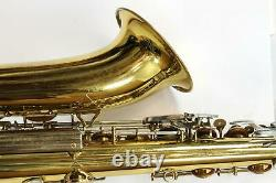 1970-71 KING SUPER 20 TENOR SAXOPHONE with Case, Mouthpiece Very Nice