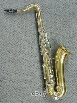 1970 Vintage Conn 16m USA Tenor Saxophone + Conn Case+selmer Mouthpiece
