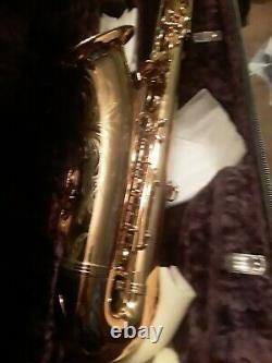 1977 Selmer Mark VII Tenor Saxophone with Original Case