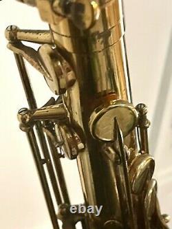1977 Selmer Paris Mark VII Tenor Saxophone In Original case One owner