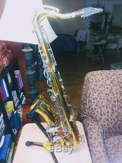 70's Bundy One Selmer Tenor Saxophone & Protection Case Serial # 681328