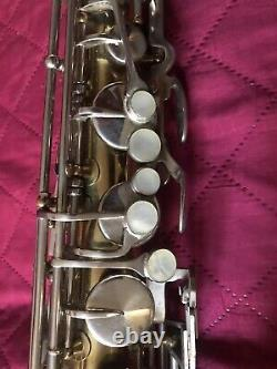 70's King Cleveland 615 Tenor Saxophone With Hard Case & Berg Larsen Mouthpiece