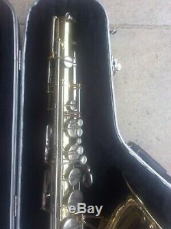AMATI CORTON Tenor Saxophone SKB Contoured Sax Case Vandoren T25 Mouthpiece