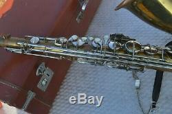 Acme Master Tenor Saxophone Ser#7901 With Case