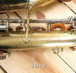 Armstrong Tenor Saxophone (1979), Case & Mouthpiece, Serviced & Ready to Play
