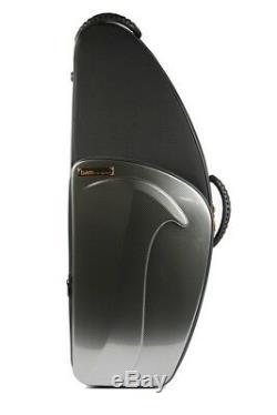 Bam Tenor Sax New Trekking Case Silver Carbon Look TREK3022SSC