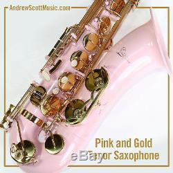 Barbie Pink Tenor Saxophone New in Case Masterpiece