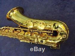 Beautiful! Allora Tenor Saxophone + Case