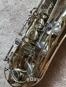 Beautiful Yamaha YTS-21 Tenor Saxophone Instrument w Case & Straps Made in Japan