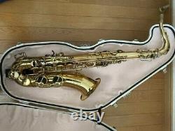 Best Brass e-Sax Tenor Saxophone Acoustic Mute Silent alto Case Practice