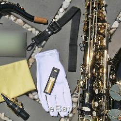 Black Tenor Sax Brand New STERLING Bb Saxophone NEW Case and Accessories