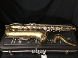 Buddy Tenor Saxophone with Case Repair Man Special