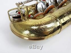 Buescher 400 Top Hat and Cane Tenor Saxophone 1955 1960 Ready To Play with Case