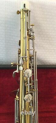 Buescher Aristocrat Tenor Sax Includes Case With Key, Mouthpiece, Cleaning Kit
