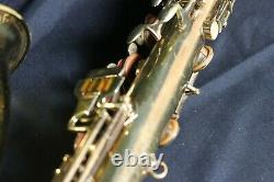 Buescher Aristocrat Tenor Saxophone PREOWNED SOLD AS IS #306XXX