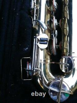 Buescher Aristocrat Tenor Saxophone Selmer Paris S80 C mouthpiece