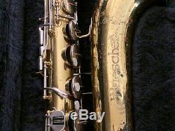 Buescher Aristocrat Tenor Saxophone with Case