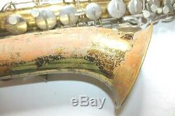 Buescher Aristocrat Vintage Tenor Saxophone With Hard Case