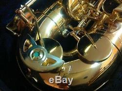 Buescher BU-5 Tenor Saxophone With Hard Case, NEW Mouthpiece, and Extras
