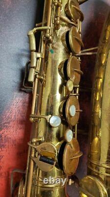 Buescher Big B Aristocrat Tenor Saxophone with case