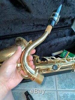 Buescher Tenor Sax BU5 With Case And Mouthpiece