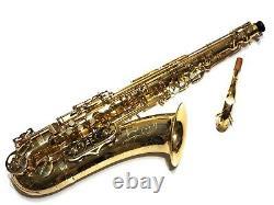Buffet-Crampon S1 Tenor Saxophone MINT Just overhauled. Incredible Player. Rare