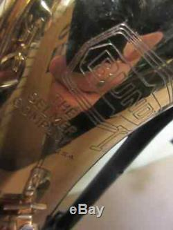 Bundy II Tenor Saxophone Serviced for sale with hard shell case included