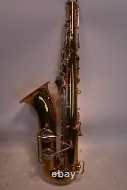 Bundy Selmer Tenor Sax Saxophone Elkhart Indiana WithCase