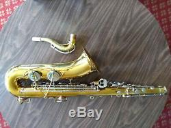 Bundy Tenor Saxophone professionally repadded, new case