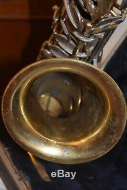 CONN 10M Tenor Saxophone For Parts Or Restoration With Neck And Case