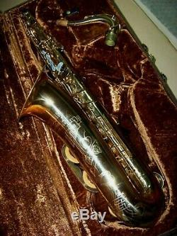 COUF Superba I keilwerth TENOR SAXOPHONE orig. Lacq/orig. Case-VERY GOOD CONDITION