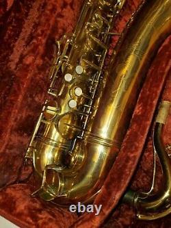 C. G. Conn 10M Naked Lady professional tenor saxophone 1948