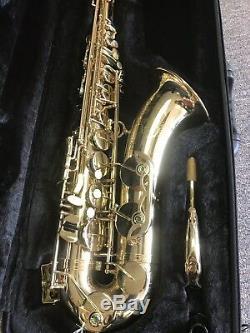 Cadeson Tenor T-833L Saxophone w Case