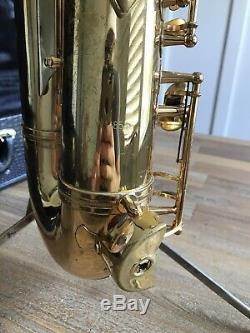 Cannonball 03 Excalibur Salt Lake City Tenor Saxophone Sax With Original Case NICE