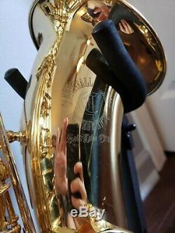 Cannonball Alcazar Tenor Saxophone with Case and Accessories