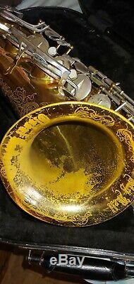 Cannonball Big Bell Global Prof Tenor Saxophone SN106270 with case & accessories