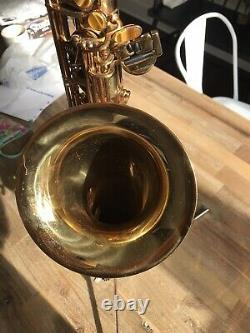 Cannonball Big Bell Stone Series T5-L Tenor Saxophone Sax With Original Case NICE
