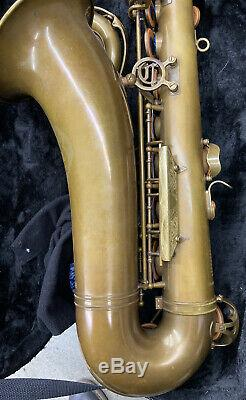 Cannonball Big Bell Stone Series Tenor Saxophone (Brute Finish)- In Gator Case