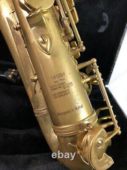 Cannonball Tenor Saxophone Big Bell Stone Series Patinaed with Case AS IS Untested