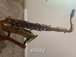 Cannonball Vintage Reborn Tenor Saxophone with Dark Amber Lacquer