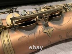 Chateau Professional Tenor Saxophone in Antique Copper Finish