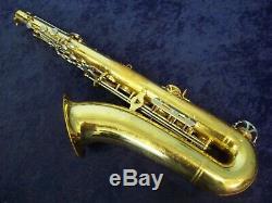 Classic Quality! Vito Made In Japan By Yamaha Tenor Saxophone + Case + Bonus