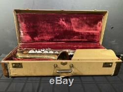 Conn 10M Naked Lady Tenor Saxophone Outfit Original Case