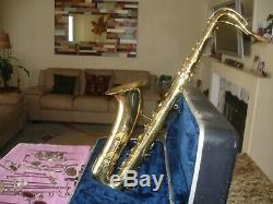 Conn 16M Tenor Sax=For Re-padding and Restoration ALL Major Parts and Case