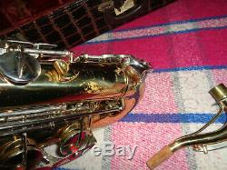 Conn 16M Tenor Saxophone Shooting Star USA Made withSuper Cool Case