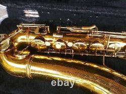 Conn 16m tenor saxophone just repaired all new pads and corks