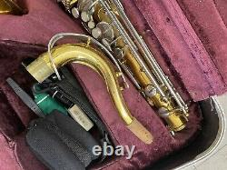 Conn 22M Tenor Saxophone In Hard Case See Pictures